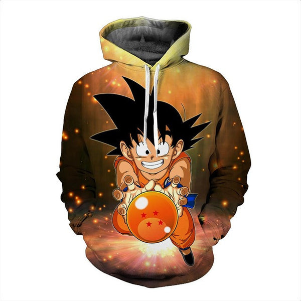 Dragon Ball Z | Hoodie | Pullovers 3D Hoodies 18 Styles