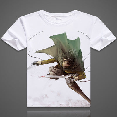 Attack on Titan | T-shirt | Fancy Shirt with Short Sleeves 19 Styles