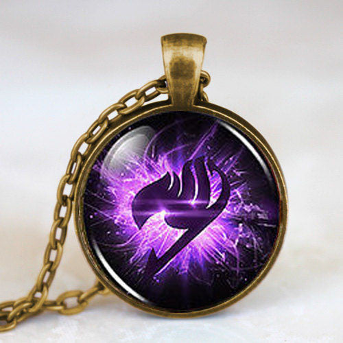 Fairy Tail | Necklace | Guild Symbol Color Purple