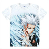 Bleach | T-shirt | White and Short Sleeve 18 Styles
