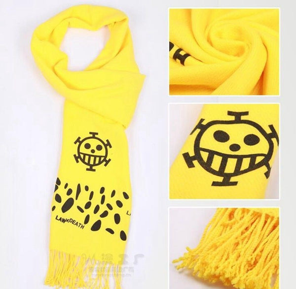 One Piece Anime Scarf Cosplay Style