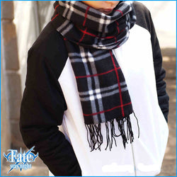 Fate Stay Night Anime, Saber Emiya Shirou Scarf Winter Style