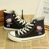 Black Butler Ciel Shoes, Casual Canvas Sneakers Hand-Painted shoes