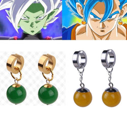 Dragon Ball Z | Eardrop Earrings | Son Goku VS Zamasu Vegetto 2 Styles