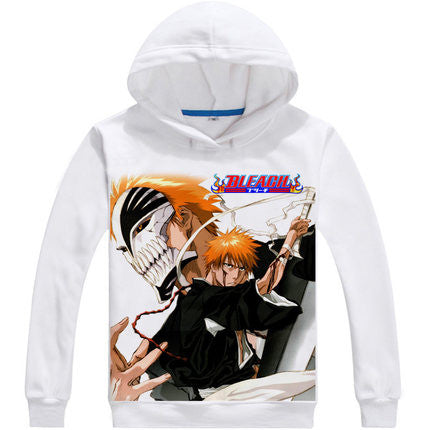 Bleach | Hoodie | White and Extra-Comfortable 6 Styles