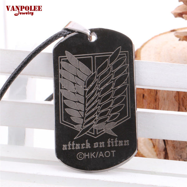 Attack on Titan | Necklace | Survey Corps Logo 2 Styles