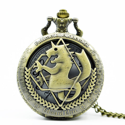 Full Metal Alchemist | Necklace | Pocket Watch and Necklace Style