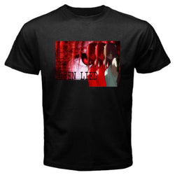 Elfen Lied | T-shirt | Casual Black Short Sleeve