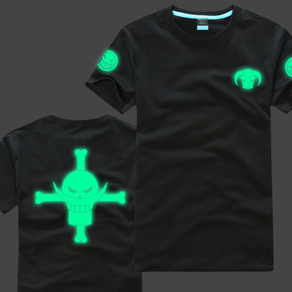 One Piece | T-shirt | Novelty Glow in the Dark Colors 5 Styles