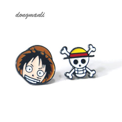 One Piece | Earrings | Cute Luffy  2 Styles