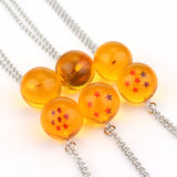 Dragon Ball Z | Necklace | Goku Dragonballs 1 - 7 Styles
