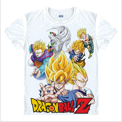 Dragon Ball Z | T-shirt | Classic Super Saiyan with 20 Styles