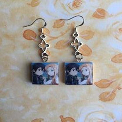Sword Art Online | Eardrop Earrings | Kirito And Asuna