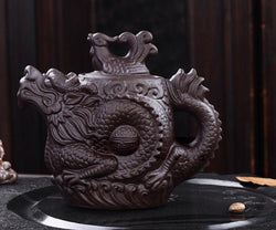 Yixing Fire Dragon Tea Pot