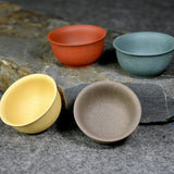 YiXing Clay Multicolor Teacup Set