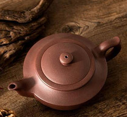 yixing clay unglazed tea pot gong fu chinese aladdin's lamp high quality brown purple