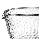 Dimpled Glass Fair Cup
