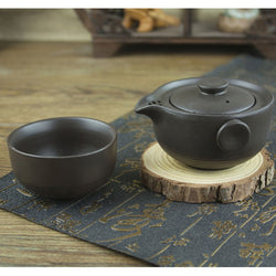 Dark Matte Finish Easy Gaiwan Tea Set