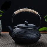 Japanese Cast Iron Tetsubin Tea Kettle