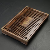 Solid Wood Chinese Design Tea Tray