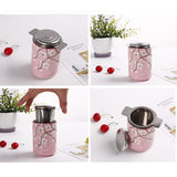 Fine Mesh Stainless Steel Tea Infuser with Lid