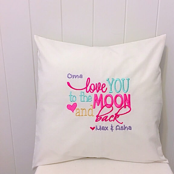 Cushions for Grandma