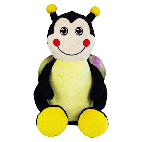 Miss Pollenator the Bumble Bee Plushie