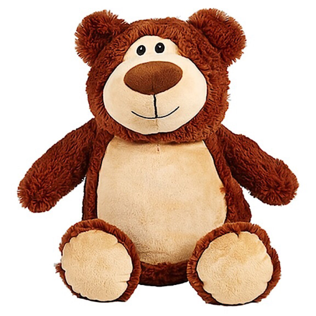 Cubbyford the Brown Bear Plushie