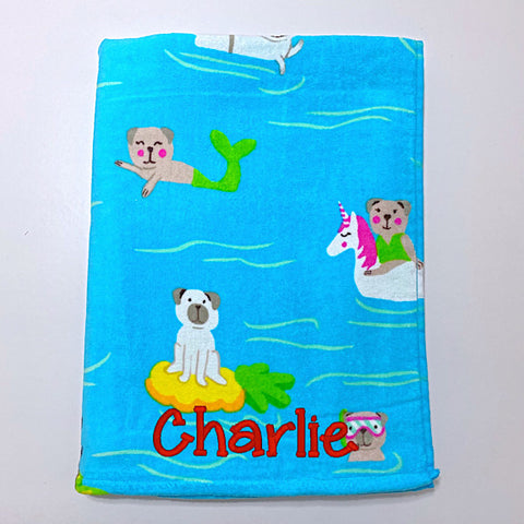 Its a Doggone Party Towel