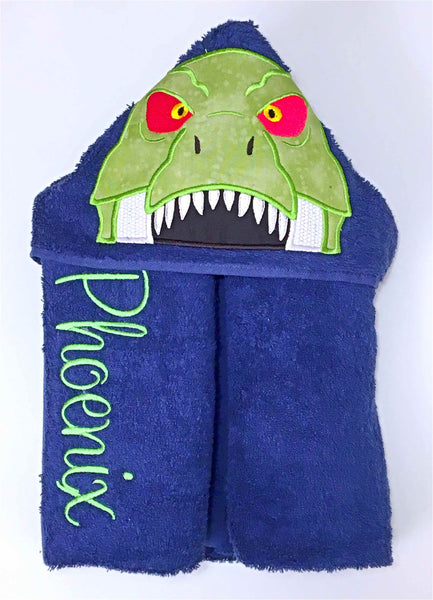 TRex Hooded Towel