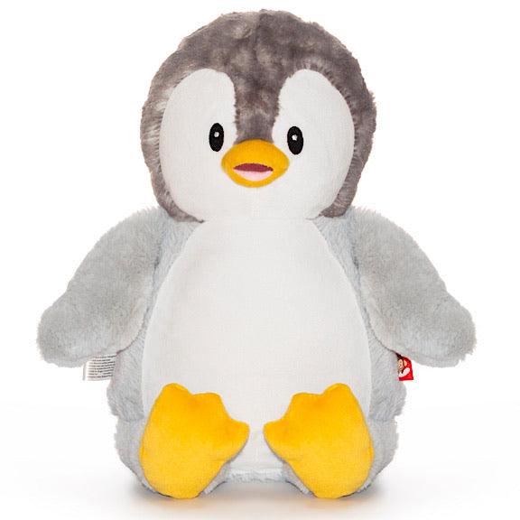 Puddles the Grey Penguin Plushie