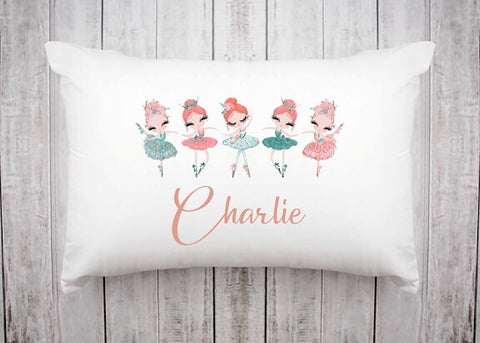 Ballet Friends Pillowcase