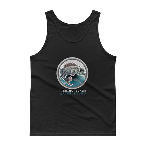 Fishing Black Water Sound Tank top