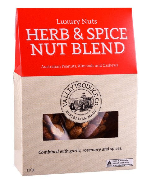 VPC LUXURY NUTS HERB & SPICE NUT BLEND 120G