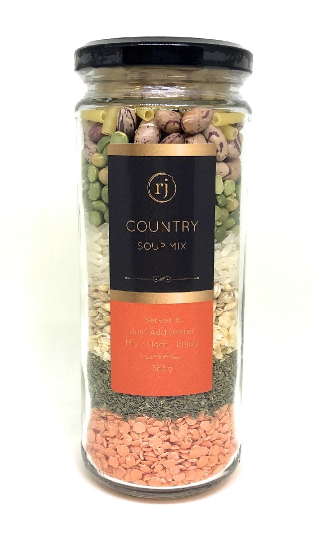 RECIPE IN A JAR SOUP MIX - COUNTRY