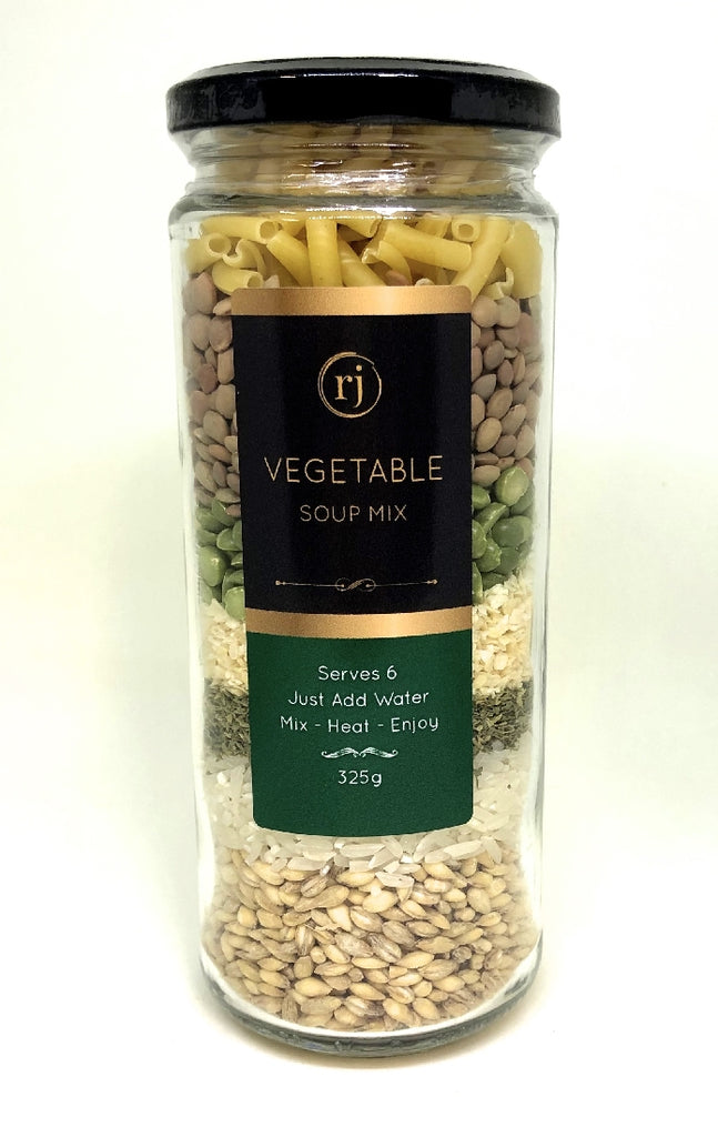 RECIPE IN A JAR SOUP MIX - VEGETABLE