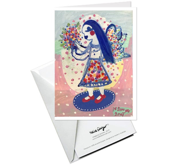 NADINE SAWYER - GREETING CARD - MAGICAL JOURNEY