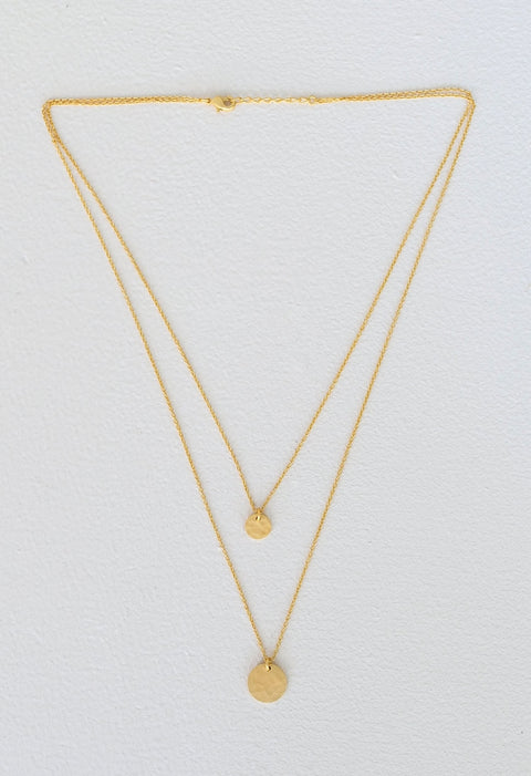 HUMIDITY S21 ECLIPSE NECKLACE GOLD