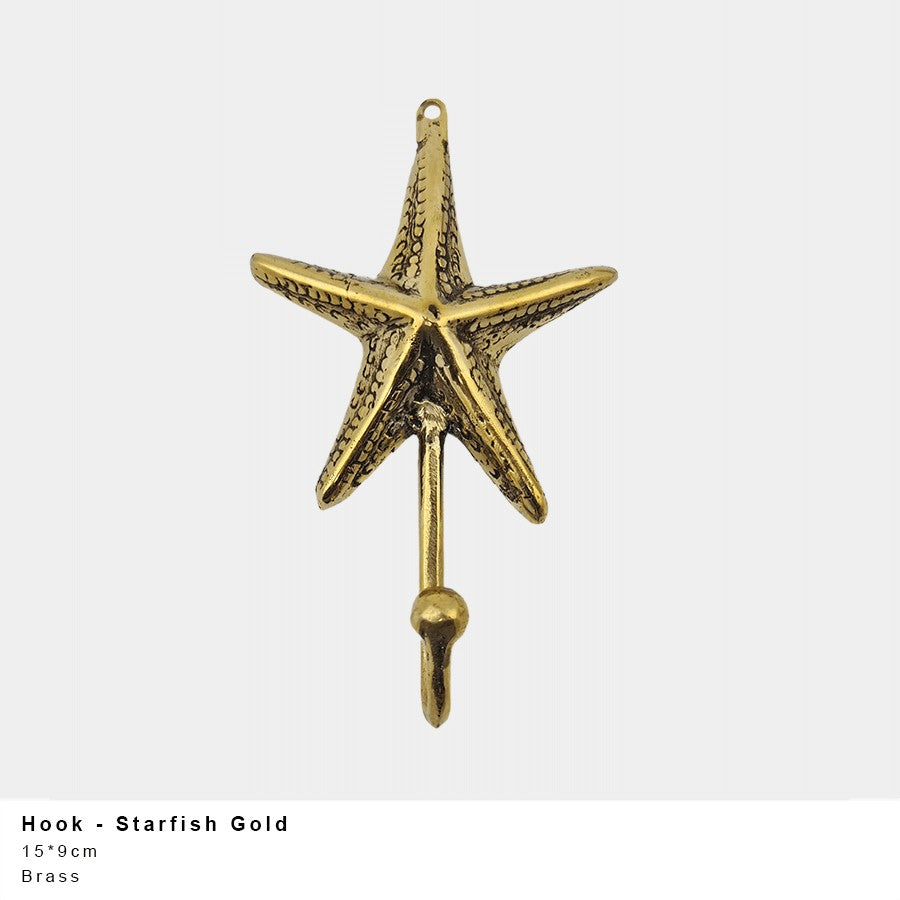 COLCAM GOLD HOOK - STARFISH