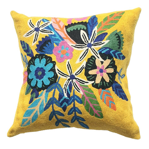 ELIZA PIRO CUSHION SUNSHINE FLOWERS 45CM