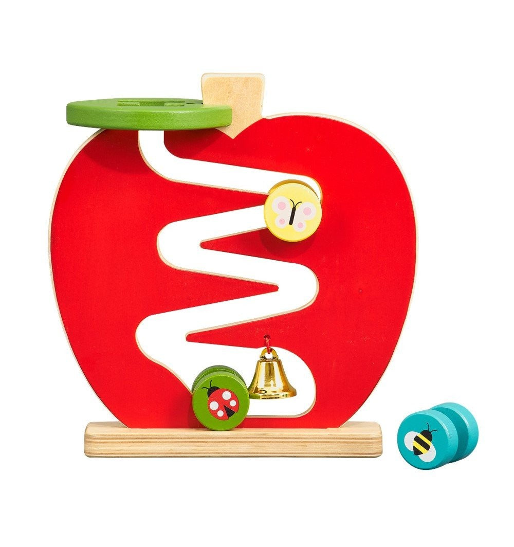 PETIT COLLAGE WOODEN PLAY SET - APPLE RUN