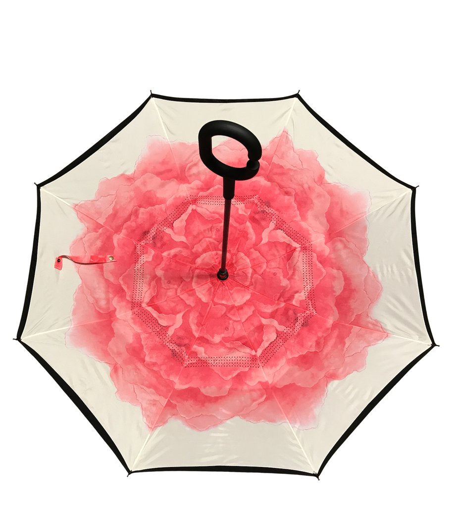 IOCO REVERSE UMBRELLA - PINK ROSE