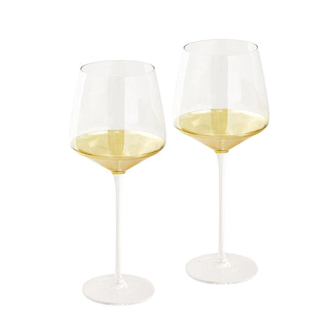 CRISTINA RE ESTELLE CRYSTAL - WINE GLASSES SET OF 2