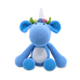 SNUGGLE BUDDIES MEDIUM SITTING TOY - BLUE UNICORN