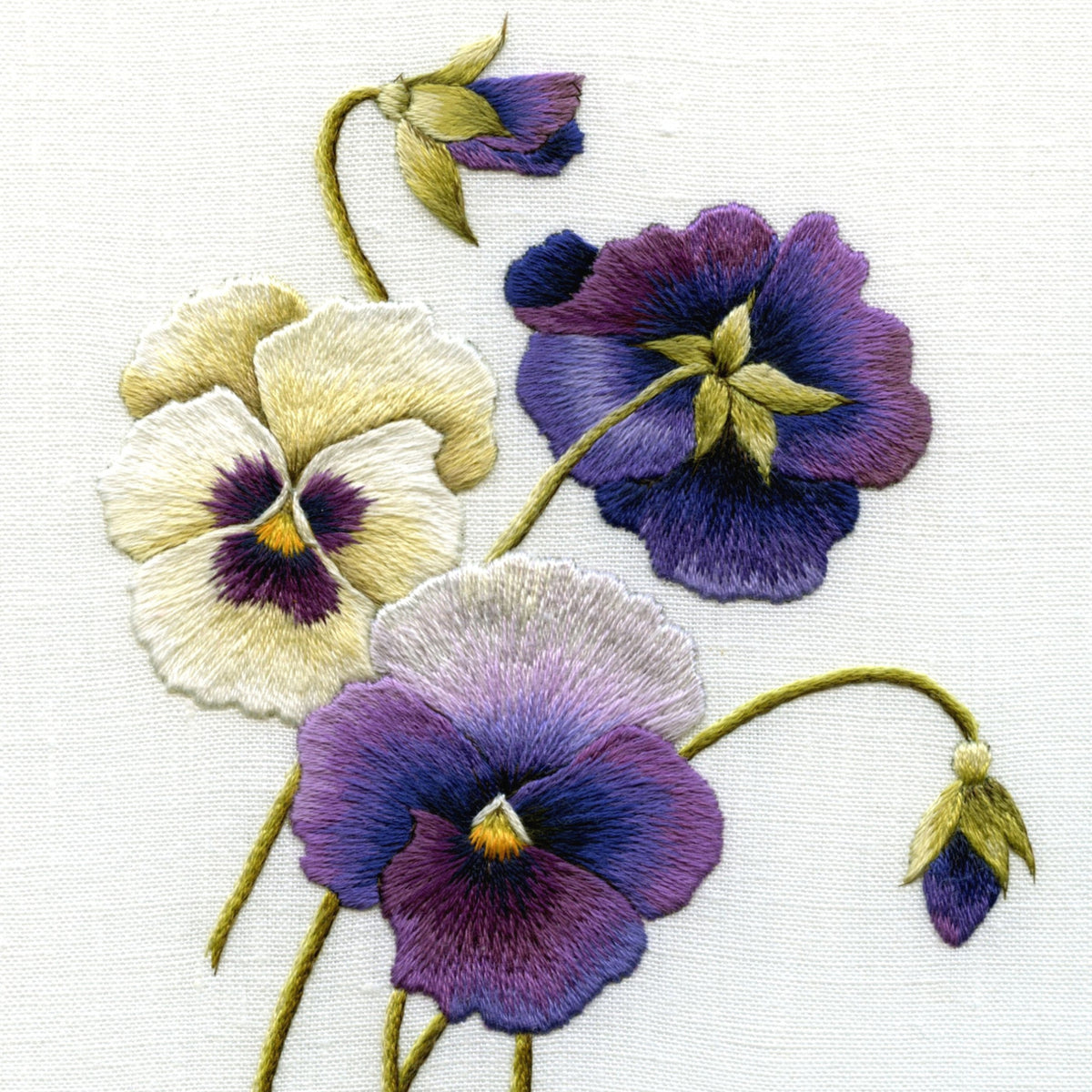 Needlepainting Flowers