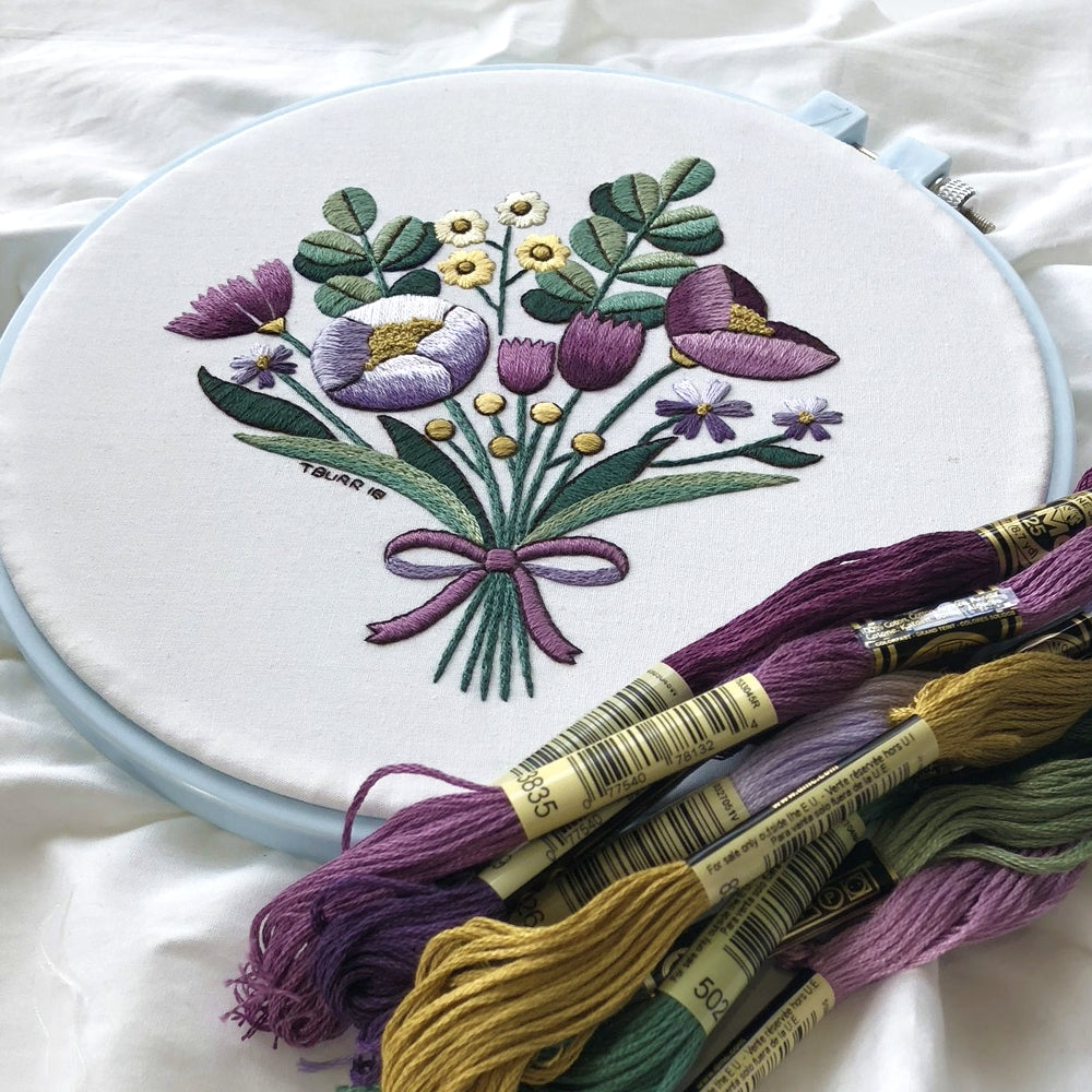 Simple Surface Embroidery