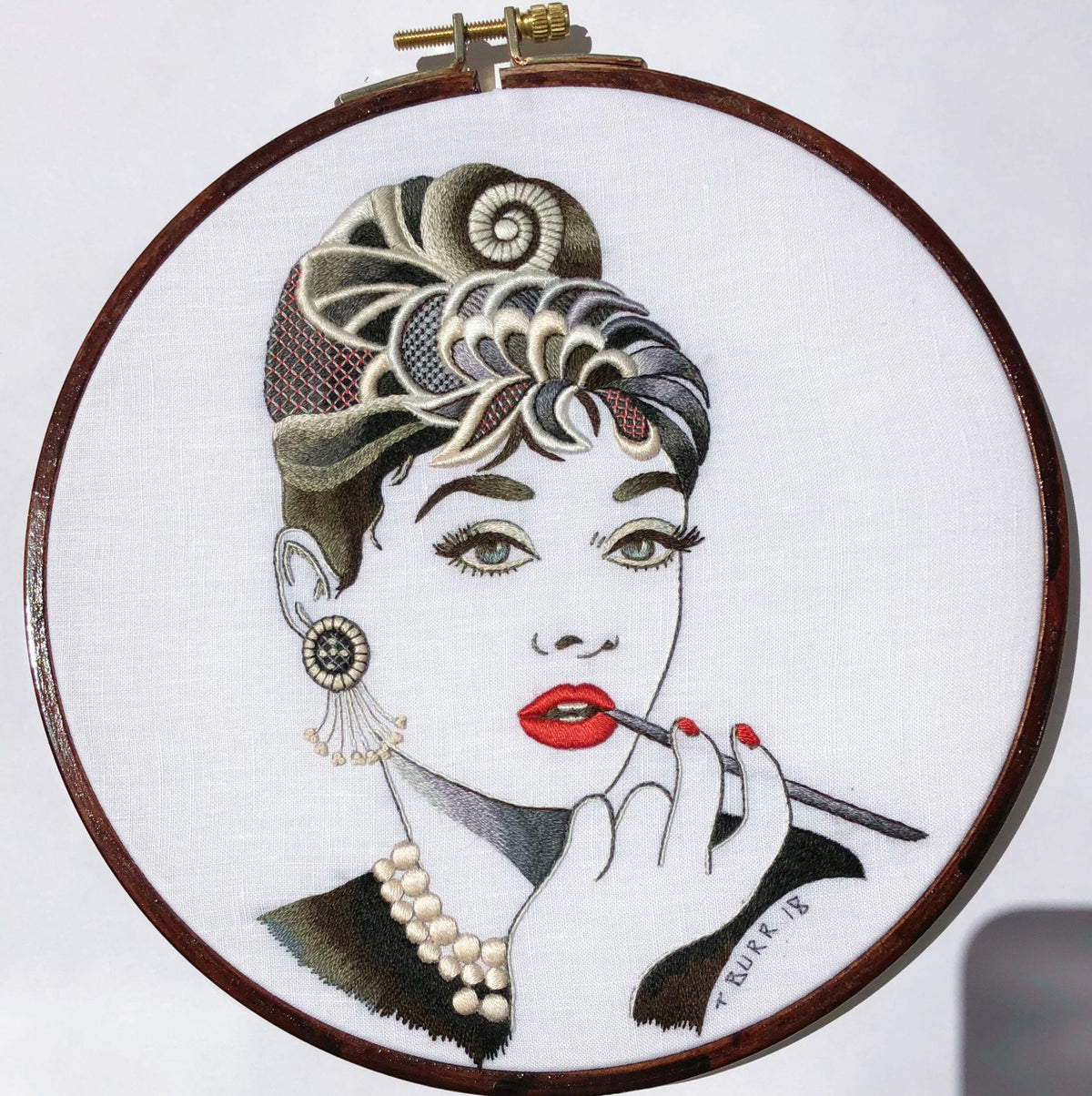 Hoop Art Embroidery