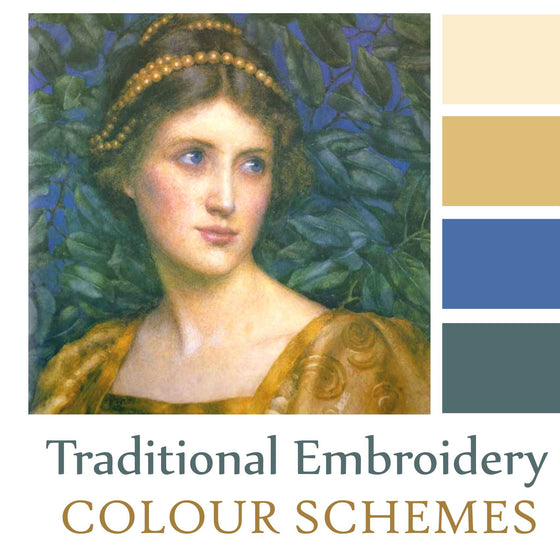 Traditional Embroidery Colour Schemes
