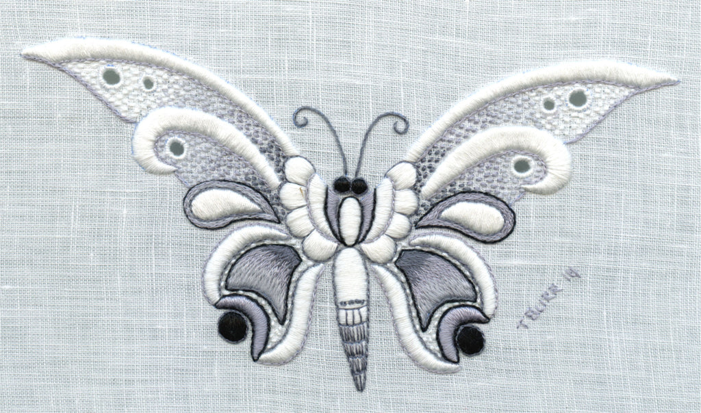 Charcoal Butterfly