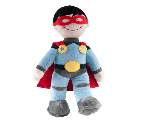 Superhero soft toy plush character